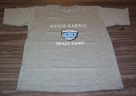 AUDIO KARATE SPACE CAMP Band T-Shirt YOUTH MEDIUM 10-12 Kung Fu Records NEW - $18.32
