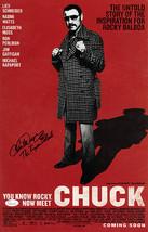 Chuck Wepner signed Chuck 11x17 Movie Poster w/ The Bayonne Bleeder- JSA... - $78.95