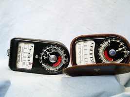 Weston Master 1 + Weston Master II Vintage Light Meters   -Nice- - $12.00
