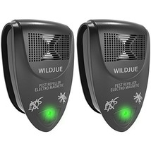 WILDJUE Ultrasonic Pest Repeller Pest Control, Spider repellent, Electro... - $20.37