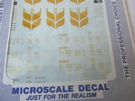 Microscale Decals Stock #87-718 Canadian Wheat Board 4-Bay Cylindrical Hopper HO image 2