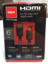 RCA / HDMI Cable 6' / For HD Video and Digital Audio - $14.74