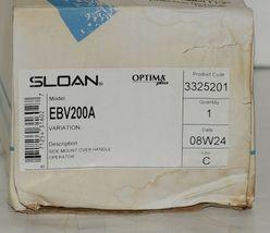 Sloan Optima Plus EBV200A Flush Valve Retrofit Kit Toilet Urinal Side Mount image 5