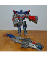 """TRANSFORMERS OPTIMUS PRIME ACTION FIGURE MOVIE VOYAGER CLASS 8"""" ELECTRON... - $20.70"""