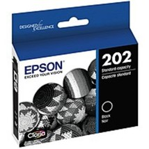 Epson T202120-S Claria T202 Standard-Capacity Ink Cartridge - Black - $39.24