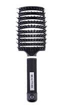 Natural Boar Bristle Hair Brush Detangler Hairbrush for Women Long Thick Thin Fi