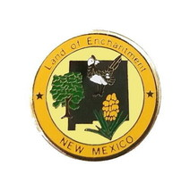 New Mexico Pin State Bird Flower Nickname Shape Tree Travel Vacation Lap... - $5.38