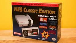 NEW Nintendo NES Mini Console Classic Edition with 30 games - $135.00