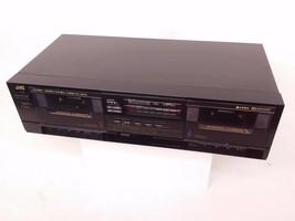 JVC Dual Cassette Tape Deck TD-W110 - $36.47