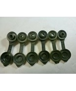 6x Black Fuel Gas Can Jug Vent Caps - Free Ship And Next Day Shipping - $7.42
