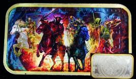 The Four Horsemen Of The Apocalypse Silver Ounce Aztec Calendar Bar + 24... - $74.79