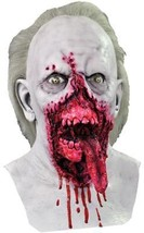 Day of the Dead Mask Doctor Tongue Adult Zombie Bloody Halloween Costume MA1031 - $67.99