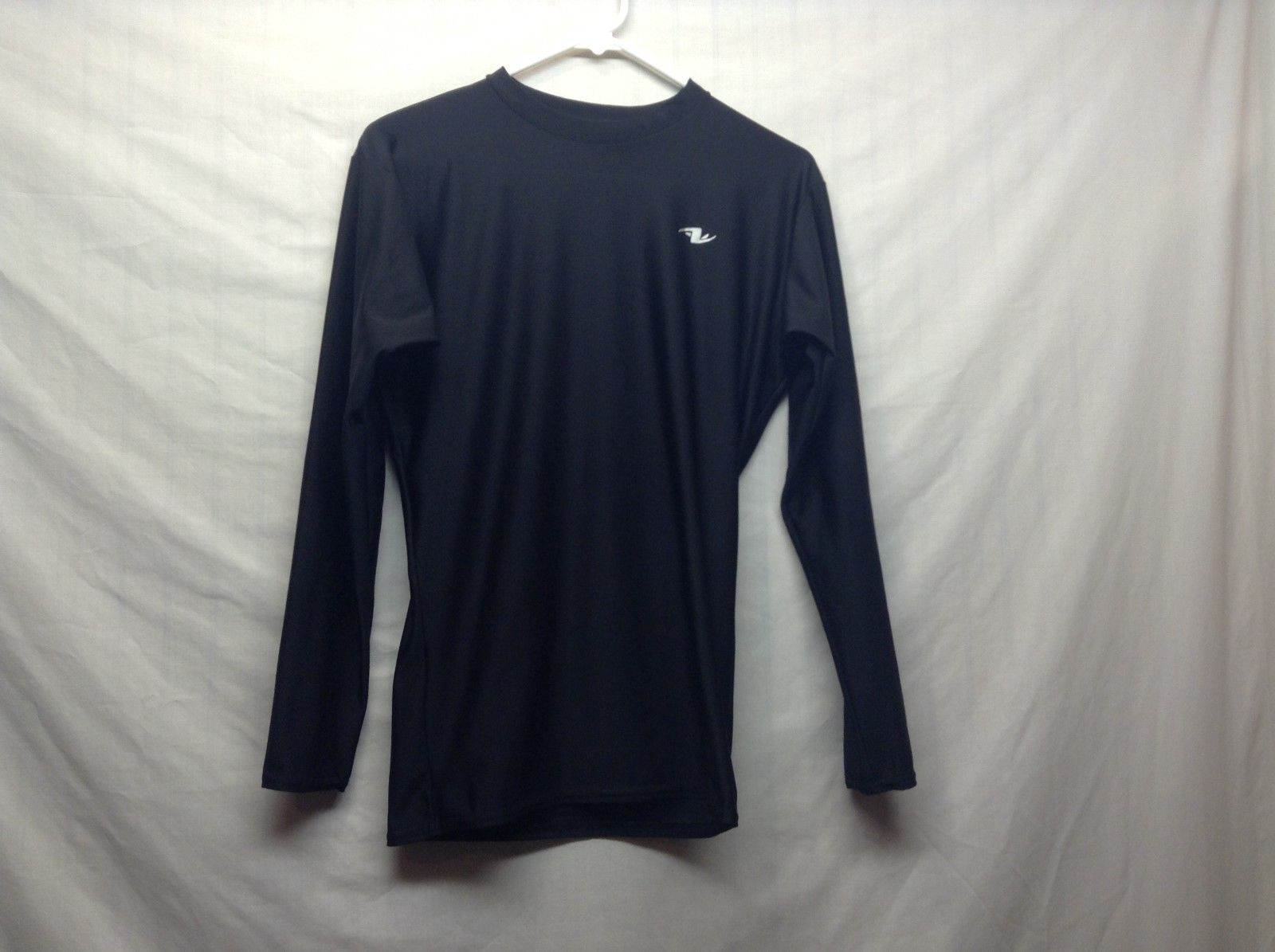 Vintage Long Sleeve Mesh Black Rash Guard
