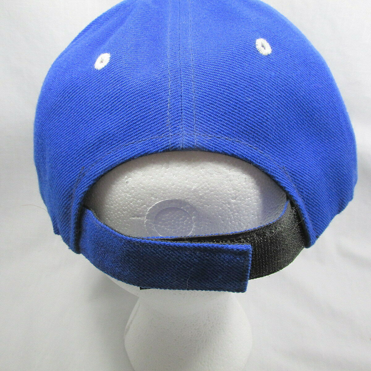 Born to Golf Cap Baseball Forced Work Vents Blue Embroidered Hat image 3