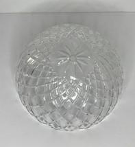 """Glass Ceiling Light Fixture Shade 1/2"""" Center Hole 10"""" Diameter 4 1/2"""" Tall - $22.72"""
