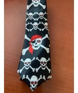 """Stylish premium quality skull slim 2"""" necktie - $10.00"""