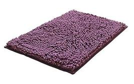 Bedroom Carpet Kitchen Bathroom Non-slip Cotton Door Mat (40x60cm, Purple) - $17.46