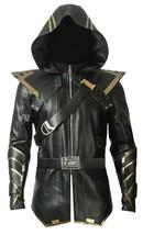Avengers Endgame Ronin Jeremy Barton Hoodie Jacket/ Pants Real Leather Costume image 2