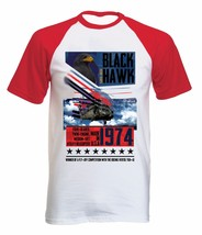 Black Hawk - New Cotton Baseball Tshirt All Sizes - $26.93