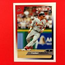 Yadier Molina 2005 Topps Total 2nd Year Card #26 MLB St. Louis Cardinals  - $4.90
