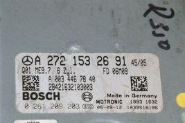 Mercedes Engine Control Unit Module ECU ECM 2721532691 a-272-153-26-91 image 4