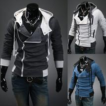 Free Shipping 2016 Fashion Casual Slim Cardigan Assassins Creed Hoodies ... - $29.95