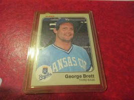 1983 Fleer #108 George Brett - $2.96