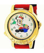 Mickey Musical Christmas, Jingle Bells, Seiko Lorus RTR038 Watch New Unw... - $146.37