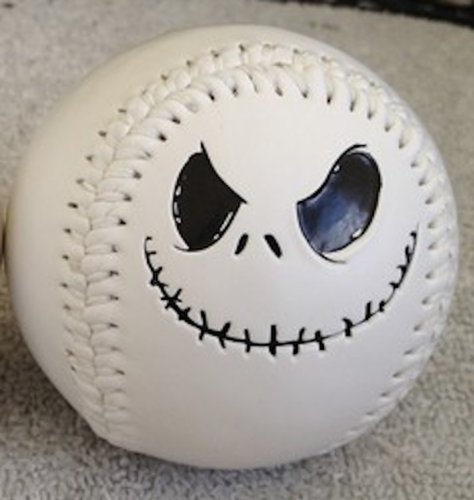 "Disney Parks Exclusive : Nightmare Before Christmas ""Jack Skellington"" Baseball"