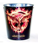 2014 Movie HUNGER GAMES: MOCKINGJAY Part 1 Metal POPCORN BUCKET 130oz Ka... - $19.99