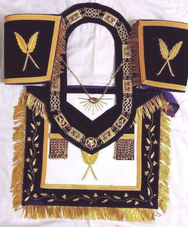 Hand Embroidery Masonic Grand Secretary and 16 similar items