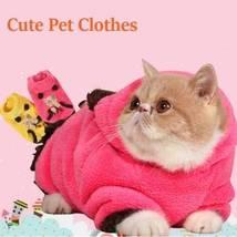 HOOPET Coral Fleece Pet Dog Cat Coat Jumpsuit Warm Comfortable Pet Cloth - $19.99