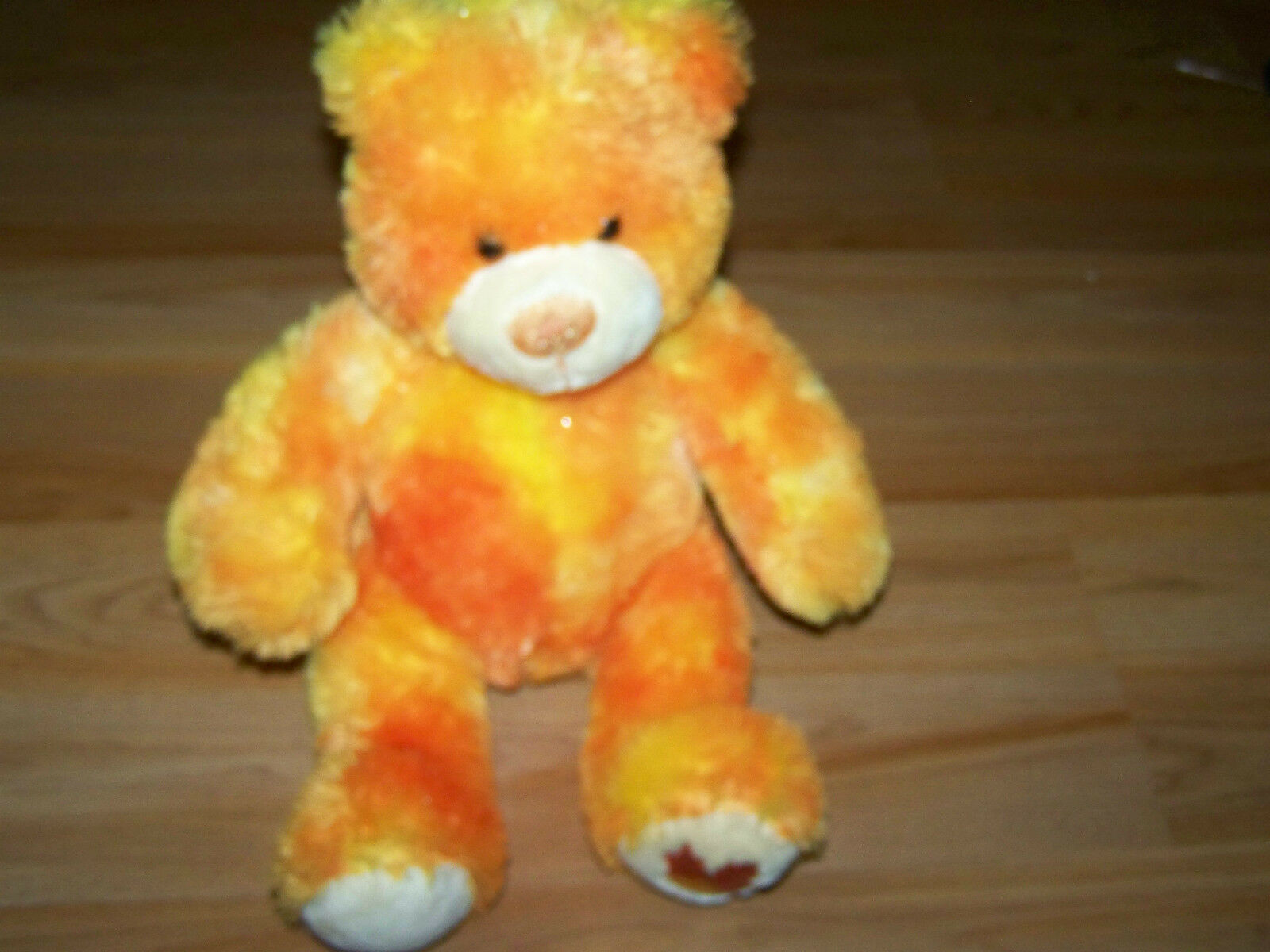 Primary image for Fall Autumn Leaf Orange Sparkle Build A Bear Workshop BAB Plush Teddy Toy EUC