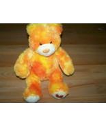 Fall Autumn Leaf Orange Sparkle Build A Bear Workshop BAB Plush Teddy To... - $24.00