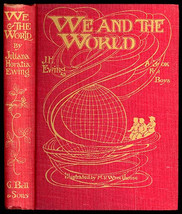 We And The World A Book For Boys by J H Ewing 1920 Illustrated by M V Wh... - $58.00