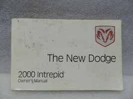 Dodge Intrepid 2000 Owners Manual 16712 - $12.86