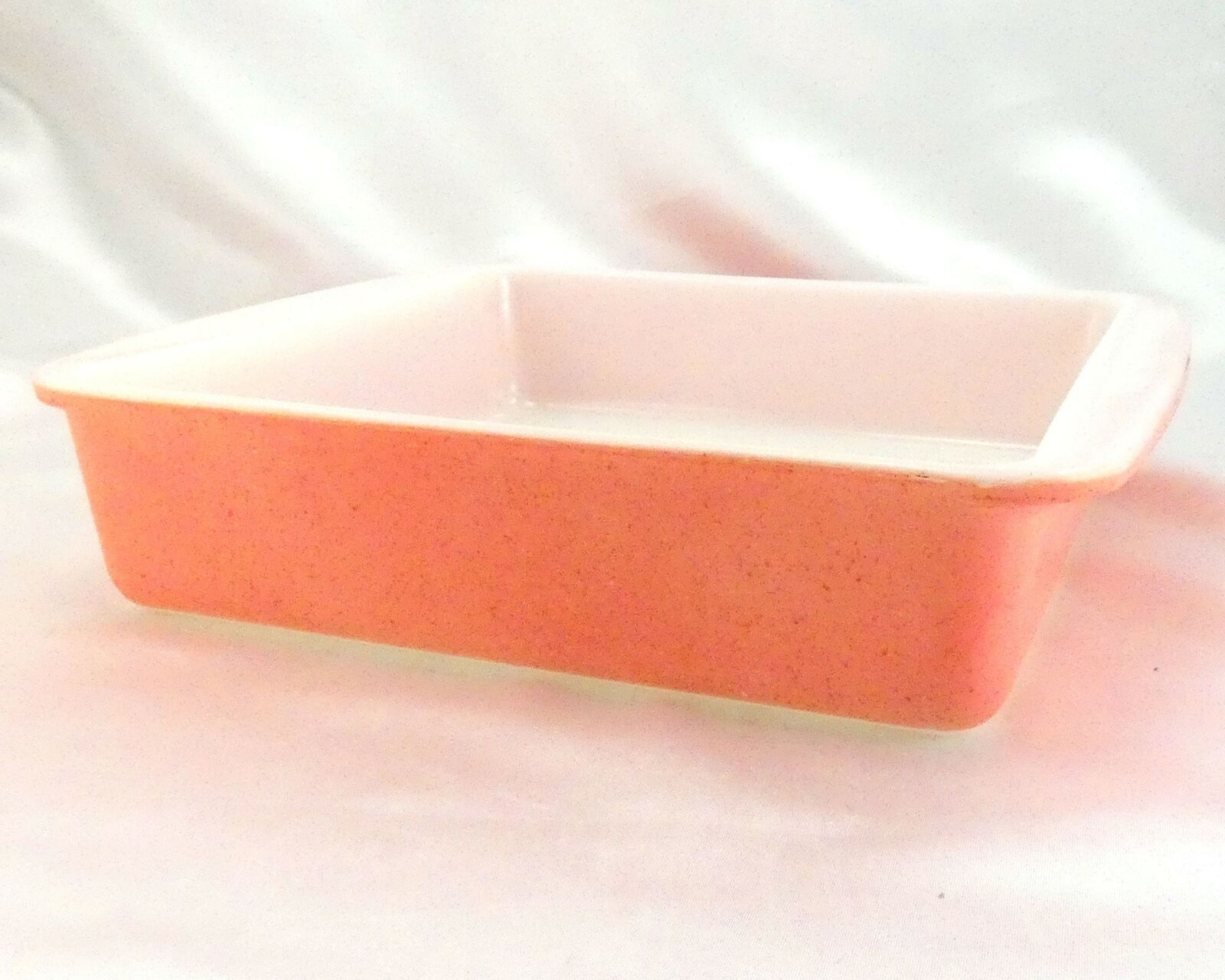 "Pyrex 222 Desert Dawn Square Baking Dish Vintage Speckled 8""x8"" Made in the USA"