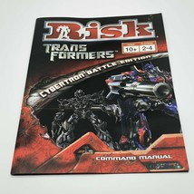 Risk Transformers Replacement Instruction Manual - $8.91