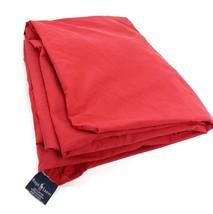 Ralph Lauren RED QUEEN FITTED SHEET 100% Cotton Clean Fresh Made USA - $39.59