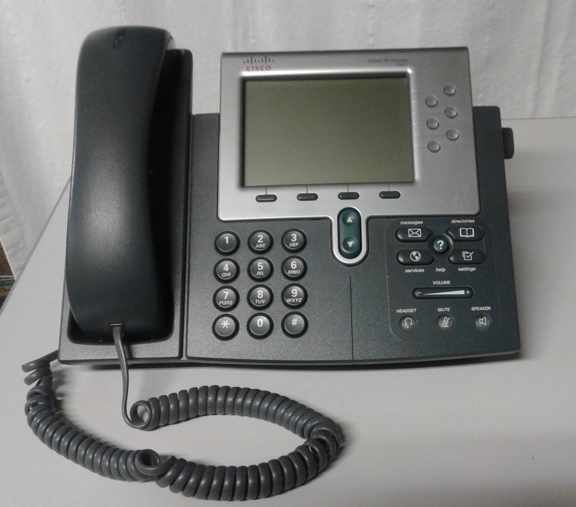 Cisco CP-7961G Unified IP Phone VoIP Digital and similar items