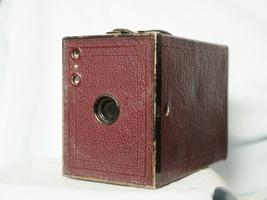 Kodak  RED Brownie London English  Vintage Box Camera - Nice - - $20.00