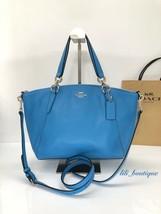 NWT Coach F28993 Small Kelsey Satchel Pebble Leather Purse Handbag Brigh... - £102.11 GBP