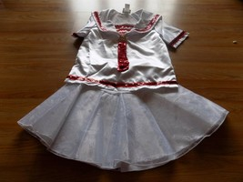 Size Large 10-12 Disney Cruise Line Minnie Mouse Sailor Outfit Nautical Costume - $48.00