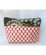 CLEARANCE Cosmetic Bag, zippered pouch, makeup Bag,  Zipper Pouch,Toilet... - $9.99