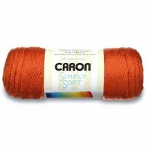 Caron Simply Soft Yarn in Pumpkin