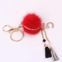 Newly Fine Mink Chain Tassel Beautiful Car Key Chain Lady Bags Hang Styl... - $27.18