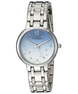 Genuine Pulsar Women's Quartz Stainless Steel Casual Watch  Silver Toned... - $75.95