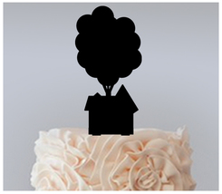 Wedding,Birthday Cake topper,Cupcake topper,silhouette Up movie : 11 pcs - $20.00