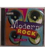 Modern Rock: Loud and Raw [Audio CD] The Ramones; Joy Division; Iggy Pop... - $197.99