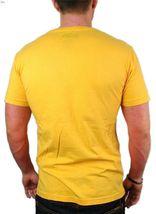 NEW NWT LEVI'S MEN'S PREMIUM CLASSIC GRAPHIC COTTON T-SHIRT SHIRT TEE YELLOW image 4